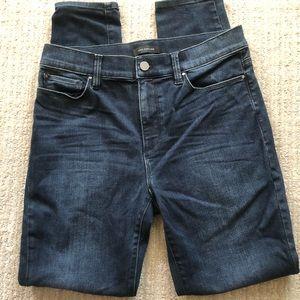 Ann Taylor High Rise Super Skinny Modern Fit Jeans